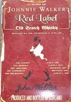 JOHNNIE WALKER - Red