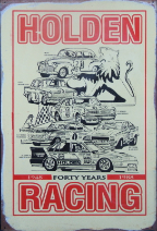 Holden Racing 40 years