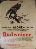 BUDWEISER Alone at the Top