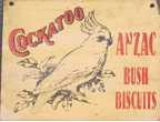COCKATOO - Anzac Buscuits