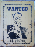 LOUIS ARMSTRONG  Wanted