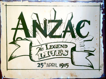 ANZAC The Legend Lives