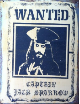 CAPT JACK SPARROW  Wanted