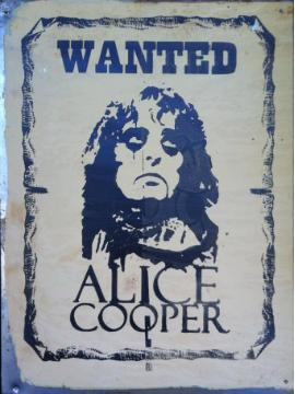 ALICE COOPER  Wanted