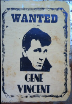 GENE VINCENT  Wanted