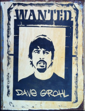 DAVE GROHL Wanted